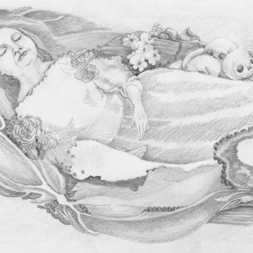What Wakes Us Heals Us. Pencil on paper. 2012