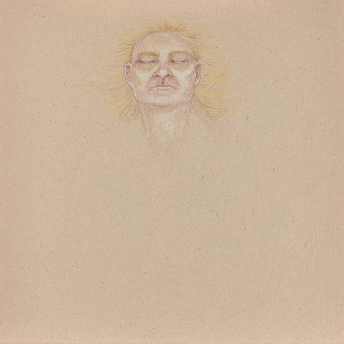 Untitled, 2013, colored pencil on paper, 10in x 10in, photo by Andrew McAllister