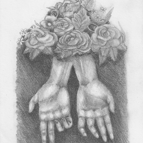 Muscle Memory. Pencil on paper. 2012.