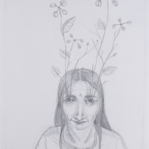 Spirit Animal. Pencil on paper. 2012.