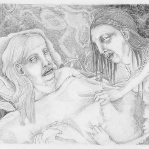 Subirse El Muerto. Pencil on paper. 2012.