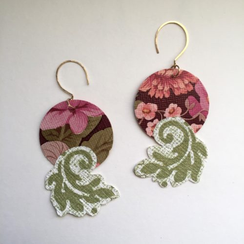 Circle Flourish Earrings